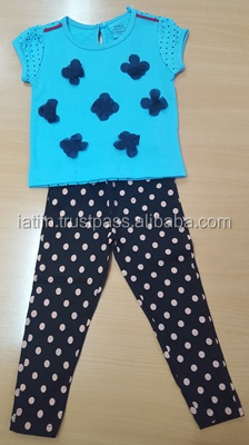 Cute dotted Girls Dress sets