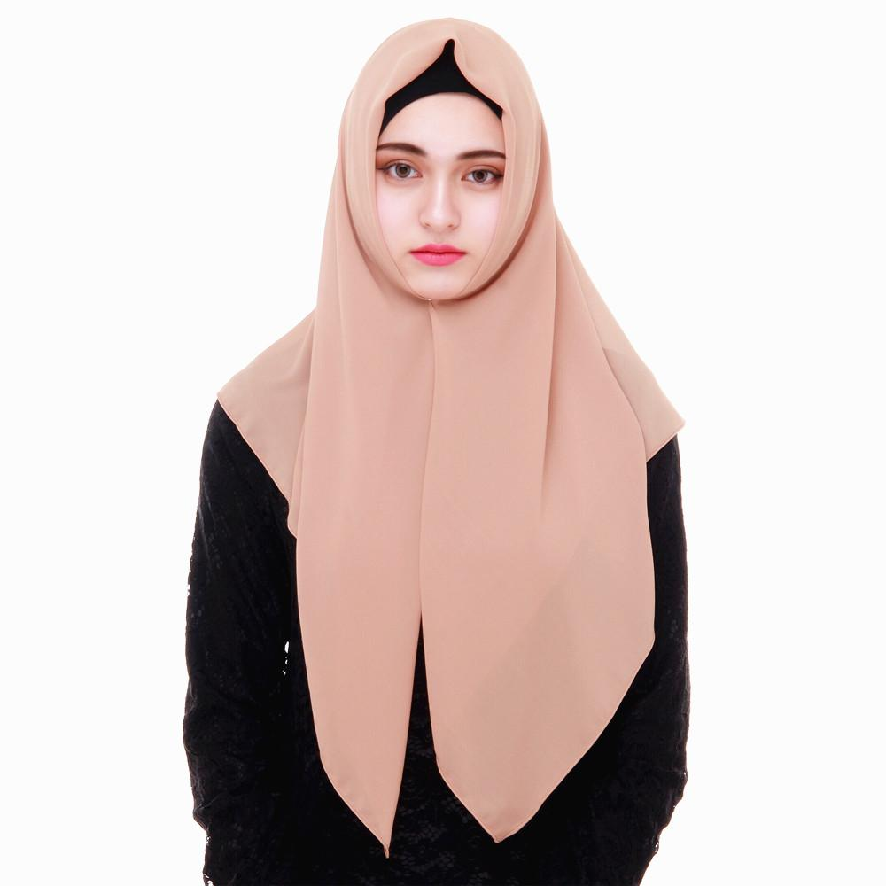 Newest muslim women fashion hijab headscarf
