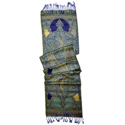 Fashionable cool neck scarf in 100% rayon Viscose Woven Patterns