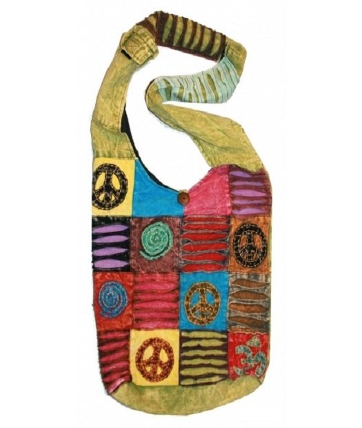 Peace Signs Cross body shoulder bags