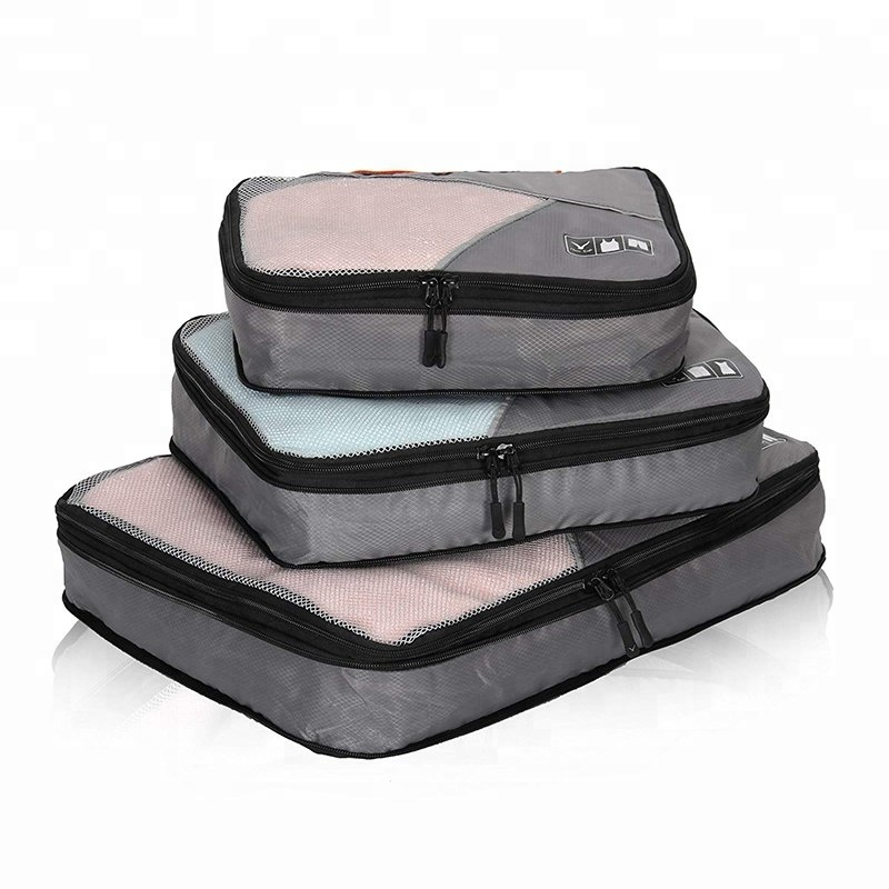 <strong>Travel</strong> packing compression cubes 3pc set packing organizer