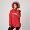 Outdoor parka jacket lady winter Geographical Norway official stock available 24h delivery