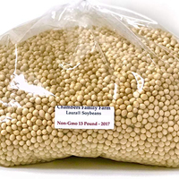 Soybean 6-8mm polished type with good price on hot sale