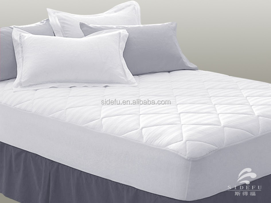 Hotel Waterproof White Mattress Protector