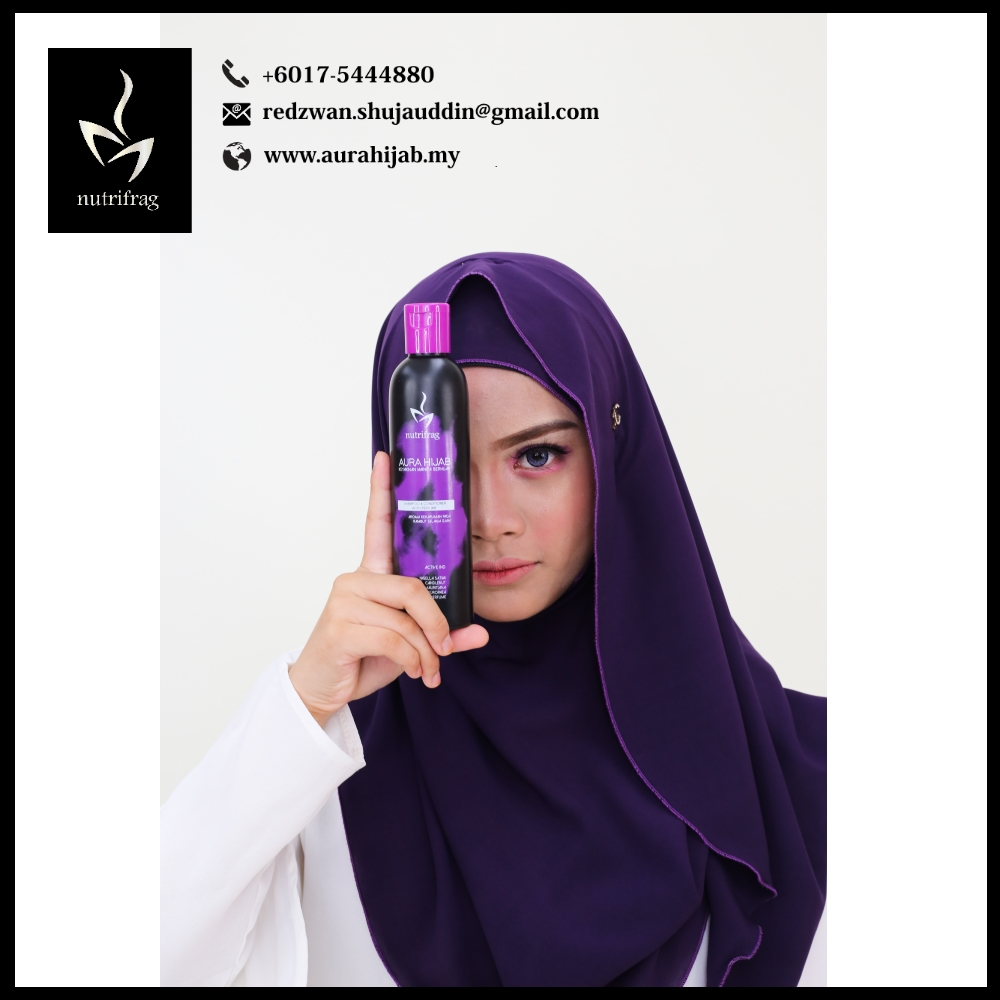 Aura Hijab Hair Shampoo and Conditioner Brands Malaysia