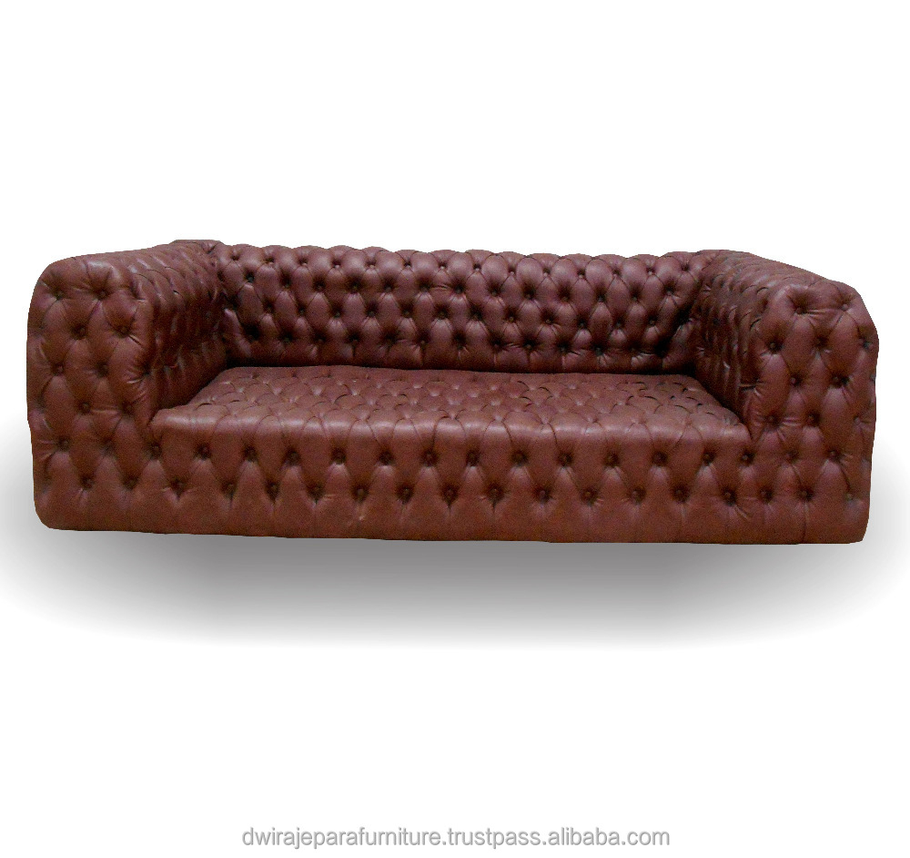 High Quality Chesterfield Sofa Furniture for Living Room Furniture made from Real Furniture Manufacturer