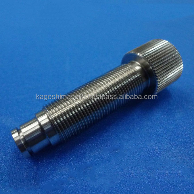 CNC turning parts cnc machining stainless knurling screw precise hardwear parts