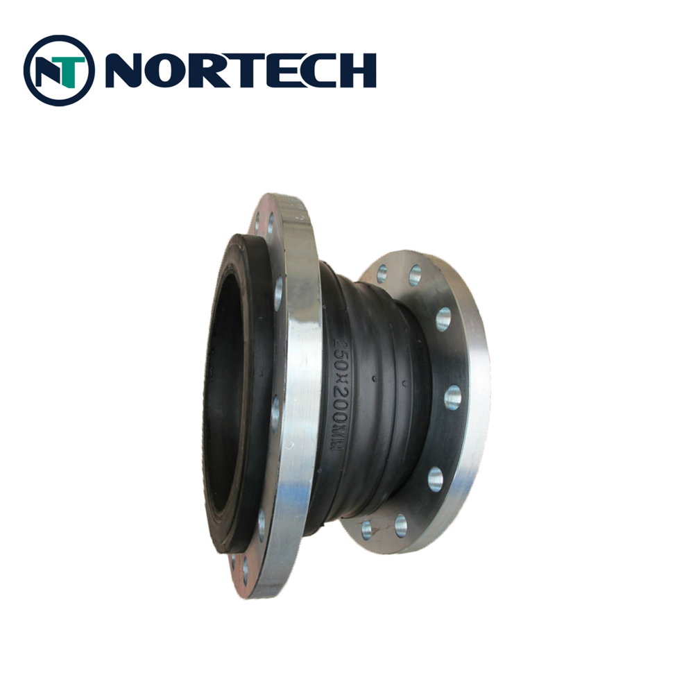 Reducer rubber expansion joint