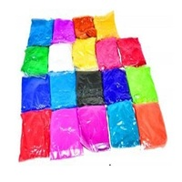 color run holi color powder paint packets colour gulal cornstarch pigments
