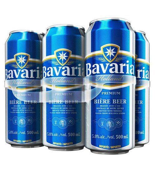 FRESH Stock Bavaria Non Alcohol Beer Both Cans Bottle.
