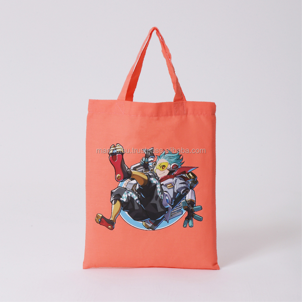 "TOKYO PRINTED ""AKIHABARA'' cosplay animation design 100% Cotton Casual Shopping custom canvas tote bags ."