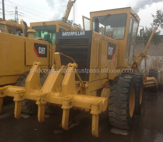 Very good quality motor grader Cat 120H .used motor grader CAT120H with cheap price