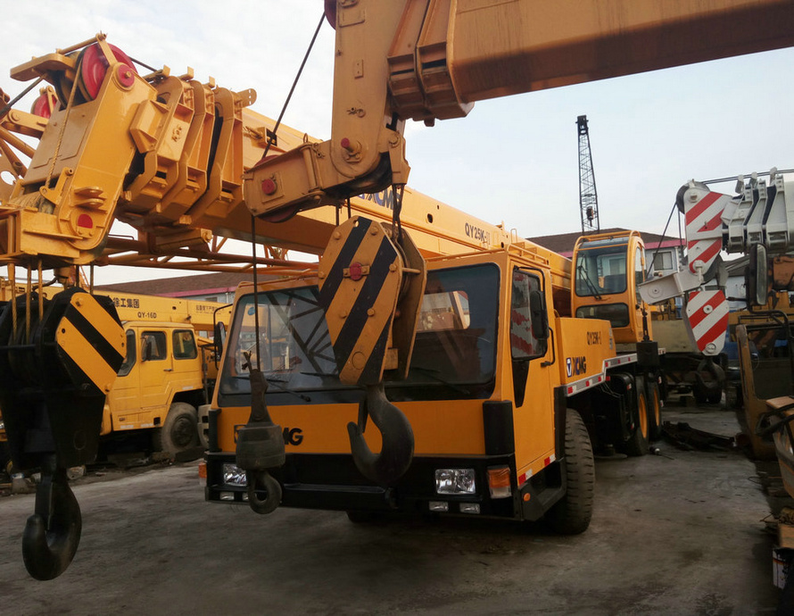 Used XCMG 50ton QY50K-I 100% made ni china japan used truck crane for sale