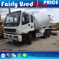 High Quality Japan Used 8cbm Isuzu