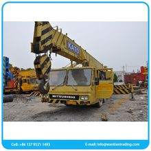 Good condition chinese product kato nk-350 used crane