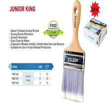 FOOD BRUSH JUNIOR KING BRUSHES AND ROLLER BRUSHES AND NOURISHMENT