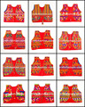 Indian Navratri Koti Shrug Vest Waist Coat- Traditional Jacket koti- India Fancy Jackets KOTI - kutchi embroidered koti