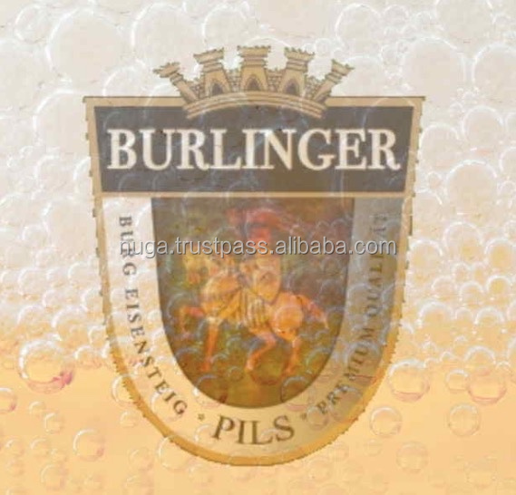 Original Bavarian Lager / Pils beer - OEM - 330 ml cans