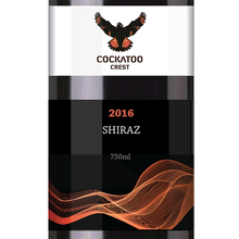 Create your own label! Australian MERLOT Red Wine