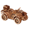 Wood Trick Quad Bike puzzle 3d - wooden model car, 3d mechanical puzzle, 3d wooden model
