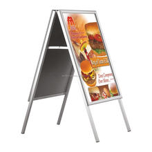 Top Selling A Board Pavement Sign Poster Display Stand Advertising Board, A1 Size Poster Frame