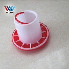 Automatic Poultry Chicken feeder pan for Broiler duck Quail Goose Hen Birds Equipment