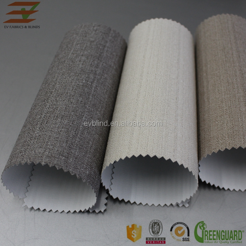 100% polyester blackout curtain cloth