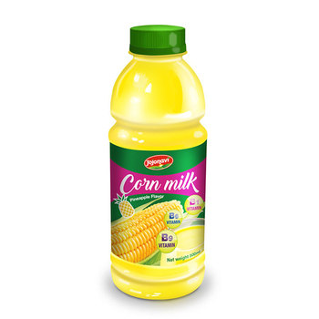 Corn Milk manufacturers With Pineapple Flavour in Pet bottle 500ml