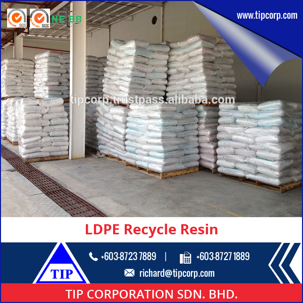 LDPE Resin Recycled Hot Selling Low Density Polyethylene