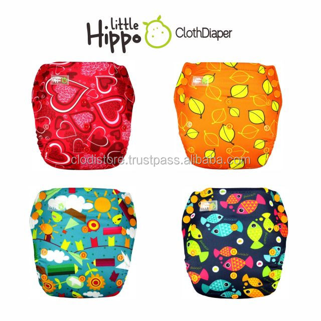 Hot Sell Baby Cloth Diaper Microfiber Baby Cloth Diapers Baby Diapers Manufacturer in Indonesia