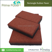 Resilience Recycled Rubber Paving Brick Price