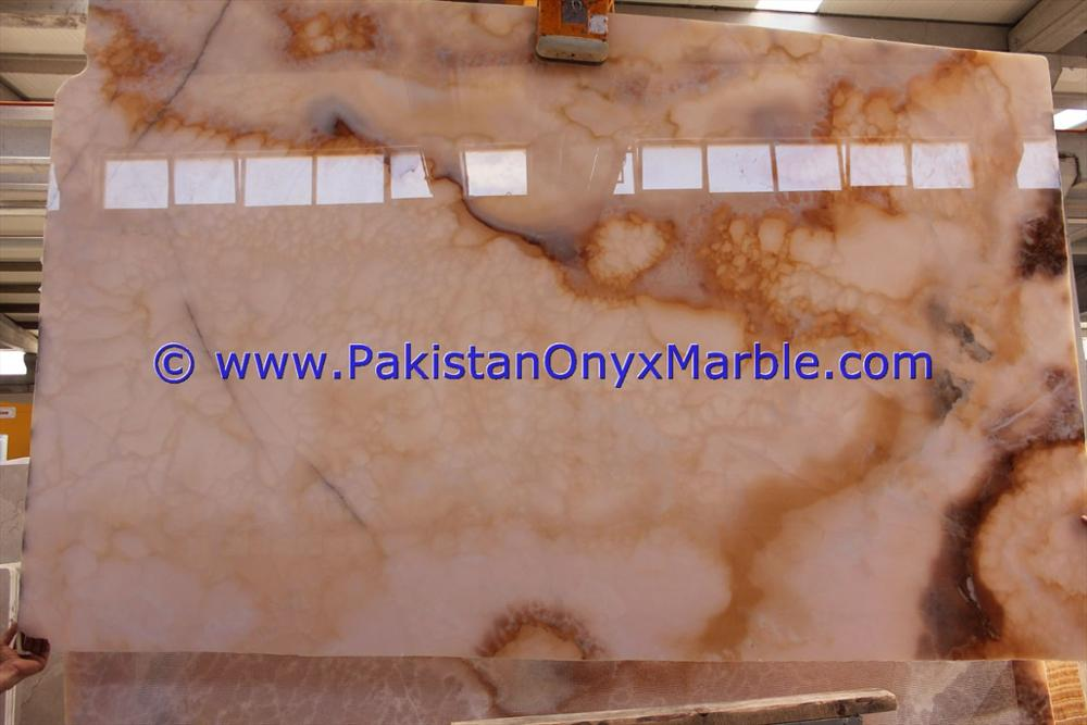 FACTORY SUPPLY AFGHAN PINK ONYX SLABS COLLECTION