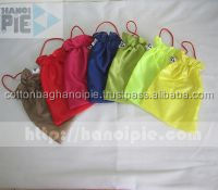 polyester folded easy-carry gift shopping bags