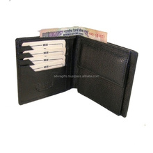 RFID Blocking Genuine Leather Wallet for Men/Excellent as Travel Credit Card Case/Wallets/Protector
