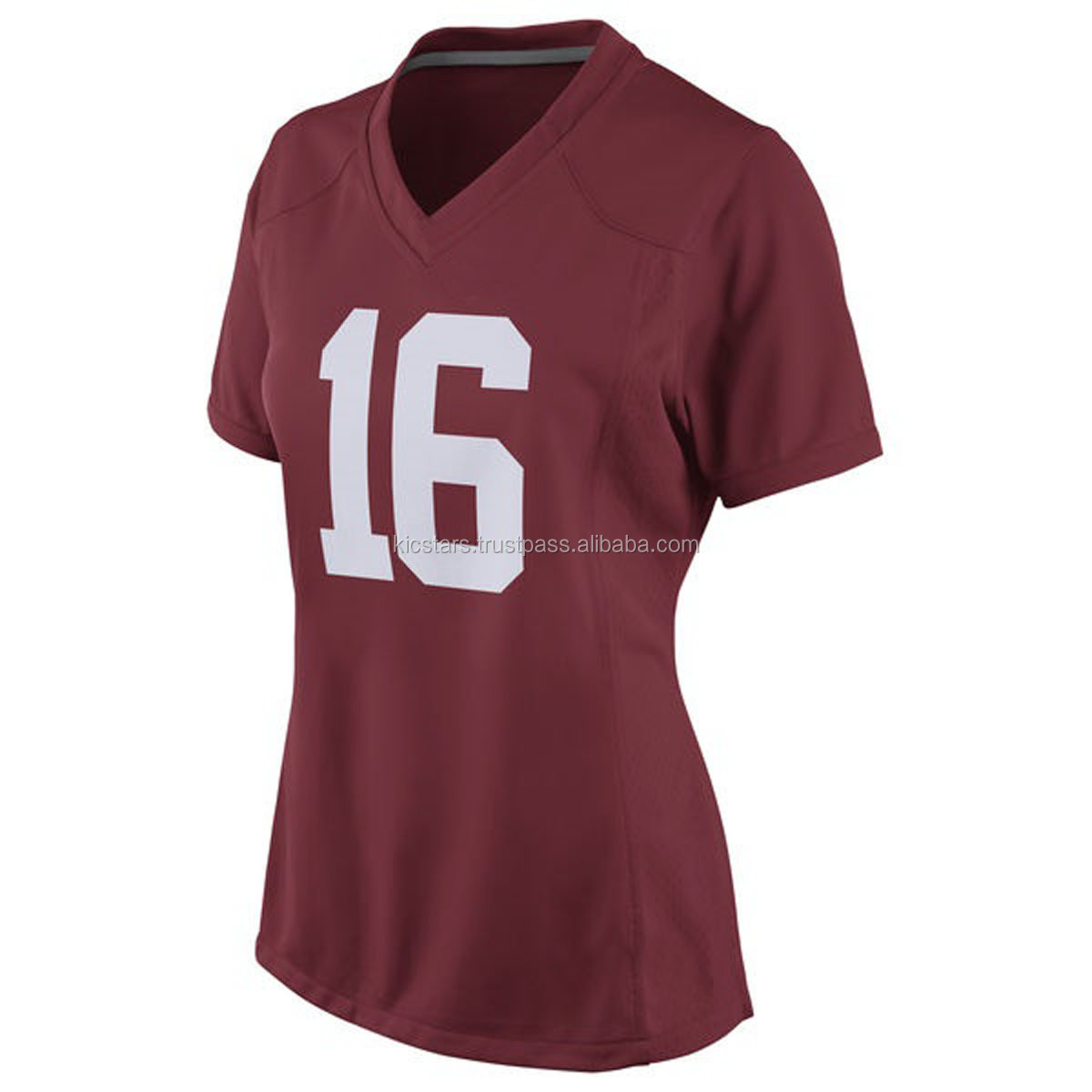 ladies football sublimation jersey