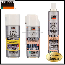 Best-selling and Low-cost anti-rust lubricant spray TRUSCO Grease Spray with multiple functions made in Japan