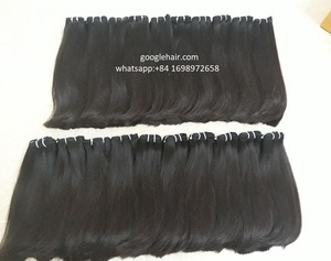 100% Vietnam Human Hair High Quality , Straight Double Drawn ,raw virgin hair