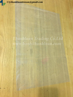 transparent LDPE heavy duty plastic packing bag for agriculture