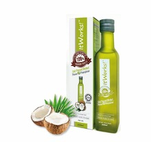 Cold Pressed Natural Extra Virgin Coconut Oil for Body and Hair