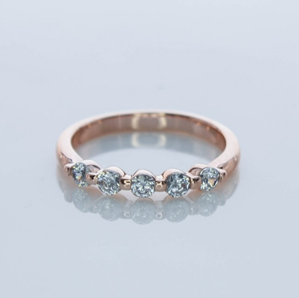 Beauty Jewelry Rose Gold Ring RG001323 K14PG