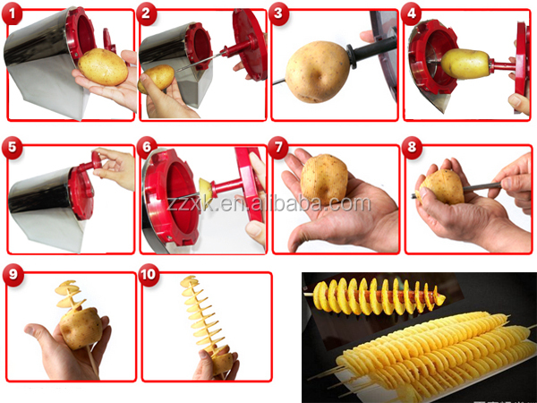 Best price potato chips slicing machine