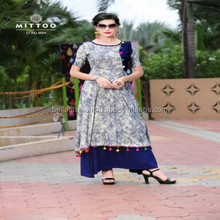 Indian Pakistani Western Party Wear Fashion Designer Long Woman Dress Rayon Kurtis In Surat
