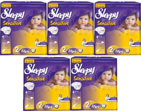 For Sleepy Baby 2 Mini 3 Midi Diapers Nappies For All Numbers For All Babies Types Kinds Assortment And Wet Wipes Best Prices