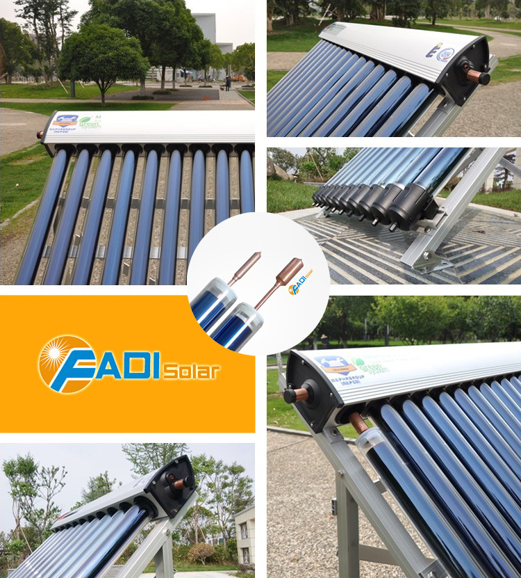Solar keymark and srcc certified solar collector (3pcs x20tube)