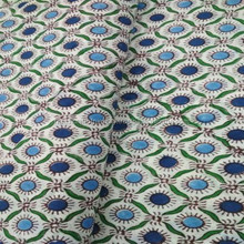 dots check Designer Hand Block Printed Cotton Fabric Indian Stylish Printed Fabric Craft Material Curtains Dressing 5 Yards