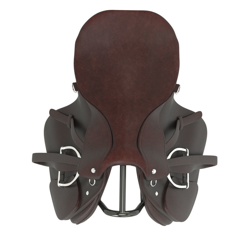 wholesale horse trail saddles - Custom Trail Saddle - horse trail saddle complete set in black colour