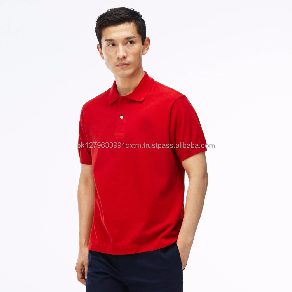 Oem Best Quality Cheap Bulk Wholesale Polo T Shirts For Men Red Pakistan