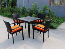 Viet Nam Wholesale 4 seats all weather wicker used home bar furniture