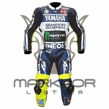 Valentino Rossi MotoGp 2013 Motorbike Racing Leather Suit
