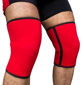 weight lifting gym equipment training knee sleeve/Knee Sleeves (SOLD AS A PAIR) Compression and Support for Weightlifting